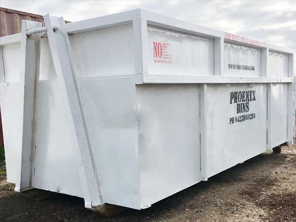 20 cubic metres skip bin for hire in Geelong