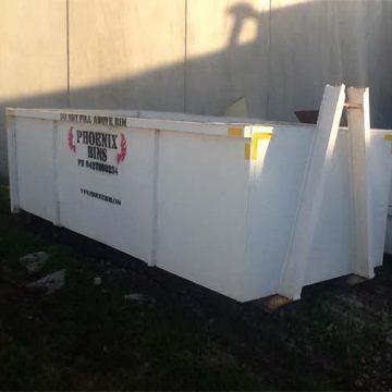 10 cubic metre skip bin for hire Geelong Phoenix