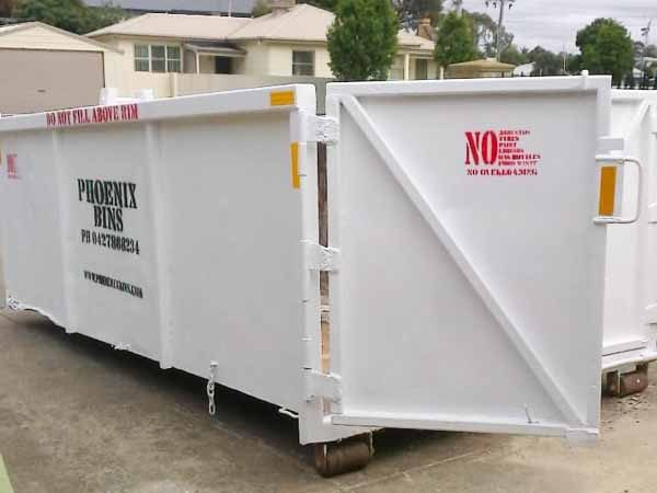 12 Cubic metre skip bin for hire Geelong