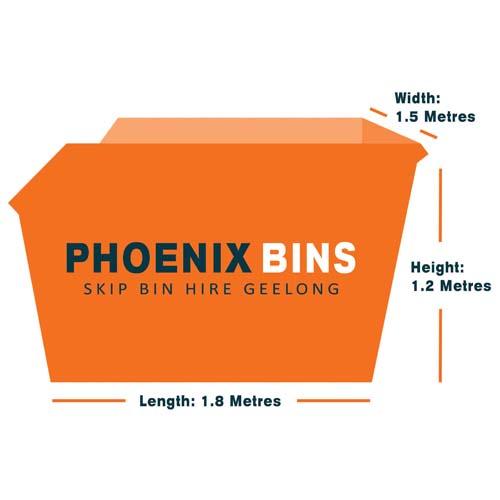 3 cubic metre skip bin hire Geelong