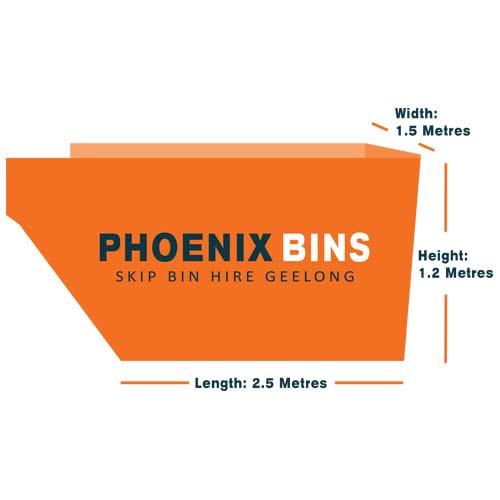 4 cubic metre skip bin hire Geelong