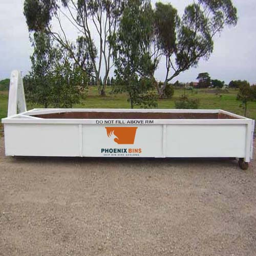 6 Cubic metre concrete skip bin hire in Geelong