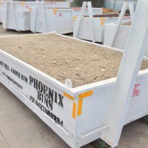 4 Cubic Metre Walk In Skip Bin CleanFill Dirt